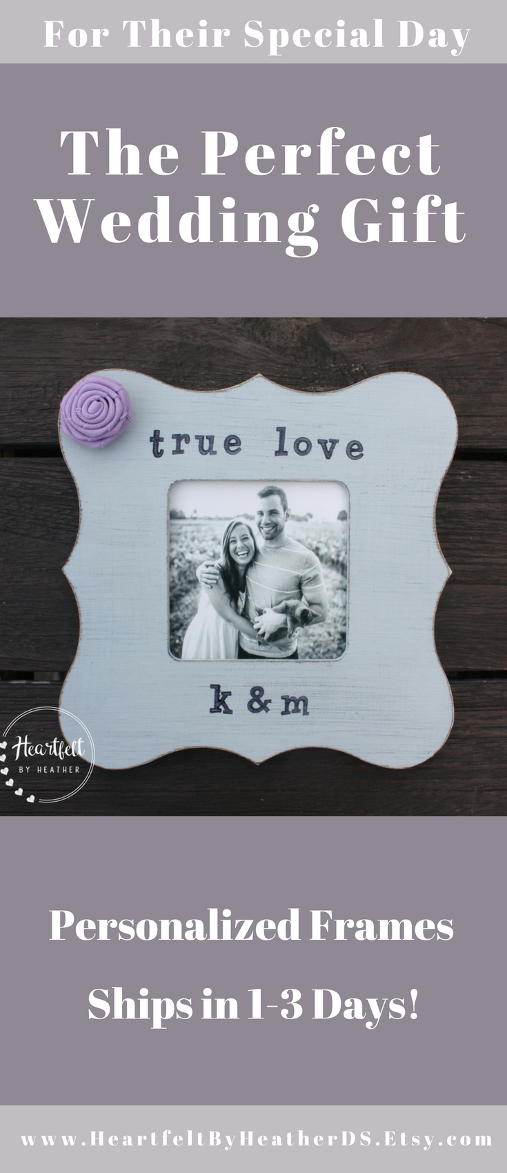 Personalized True Love Wood Picture Frame Bridal Shower Gift Unique Wedding Gifts For Couple 5th Anniversary Gift For Her Engagement Personalized Wedding Picture Frame Wedding Gifts For Couples Unique Wedding Gifts