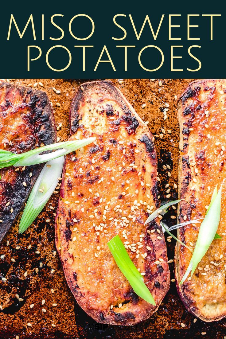 Miso Sweet Potato Roasted To Perfection images