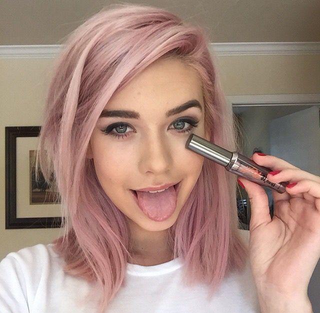 das sind trend haarfarben 2018 barbie pastell und rosa