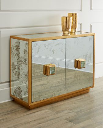 Catalina Cabinet | Cabinet, Furniture, Mirrored furniture