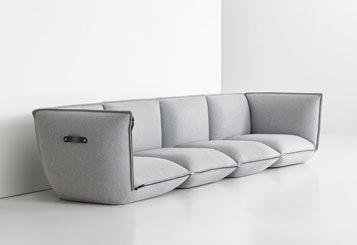 Zip Sofa - Alex Akopova for Bernhardt Design | Sofa ...