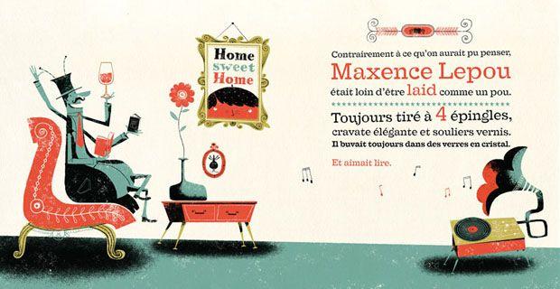 Maxence Le Pou Editions Fleur De Ville Visual Art Picture Book Illustration