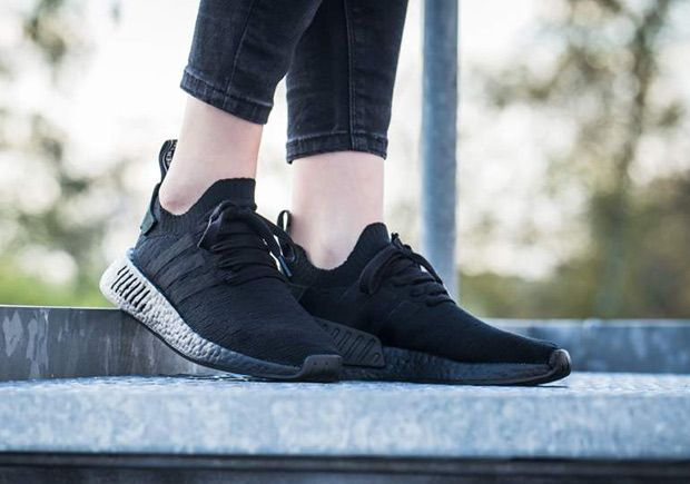 63ba779d7768 adidas NMD R2 Triple Black BY9524 Release Info  thatdope  sneakers  luxury   dope  fashion  trending