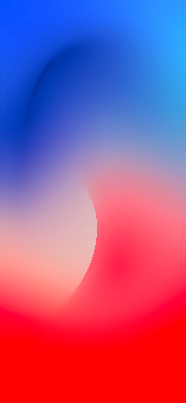 Fluid Blue And Red By Ar72014 Iphone Homescreen Wallpaper