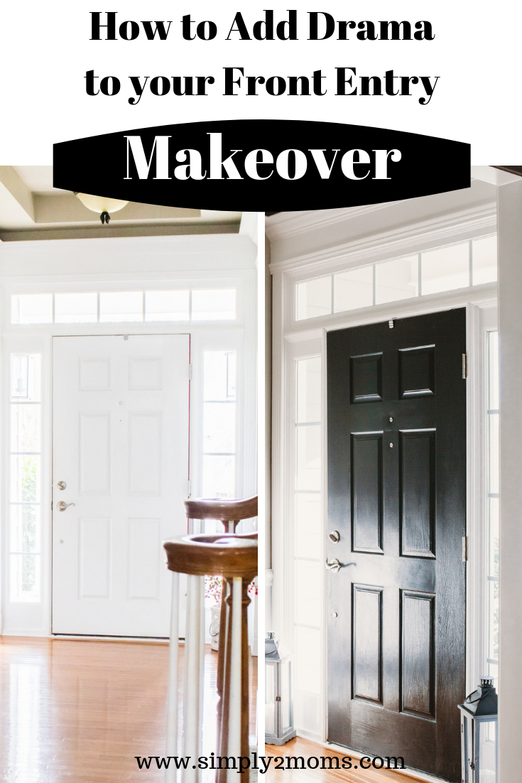 How to Paint Doors is part of Painting interior doors black, Black interior doors, Painted interior doors, Doors, Painted doors, Doors interior - Have you noticed the new trend of painting interior doors black  Me too! The first thing I did for my front entryway makeover was painting the inside of my front door black  I learned there are some tricks when you paint doors  Particularly when you paint paneled doors  And I'm gonna share them all with … Read more