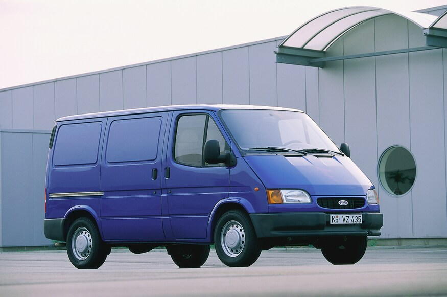 Photos Fifty Years Of The Ford Transit Van Ford Transit Vans Ford
