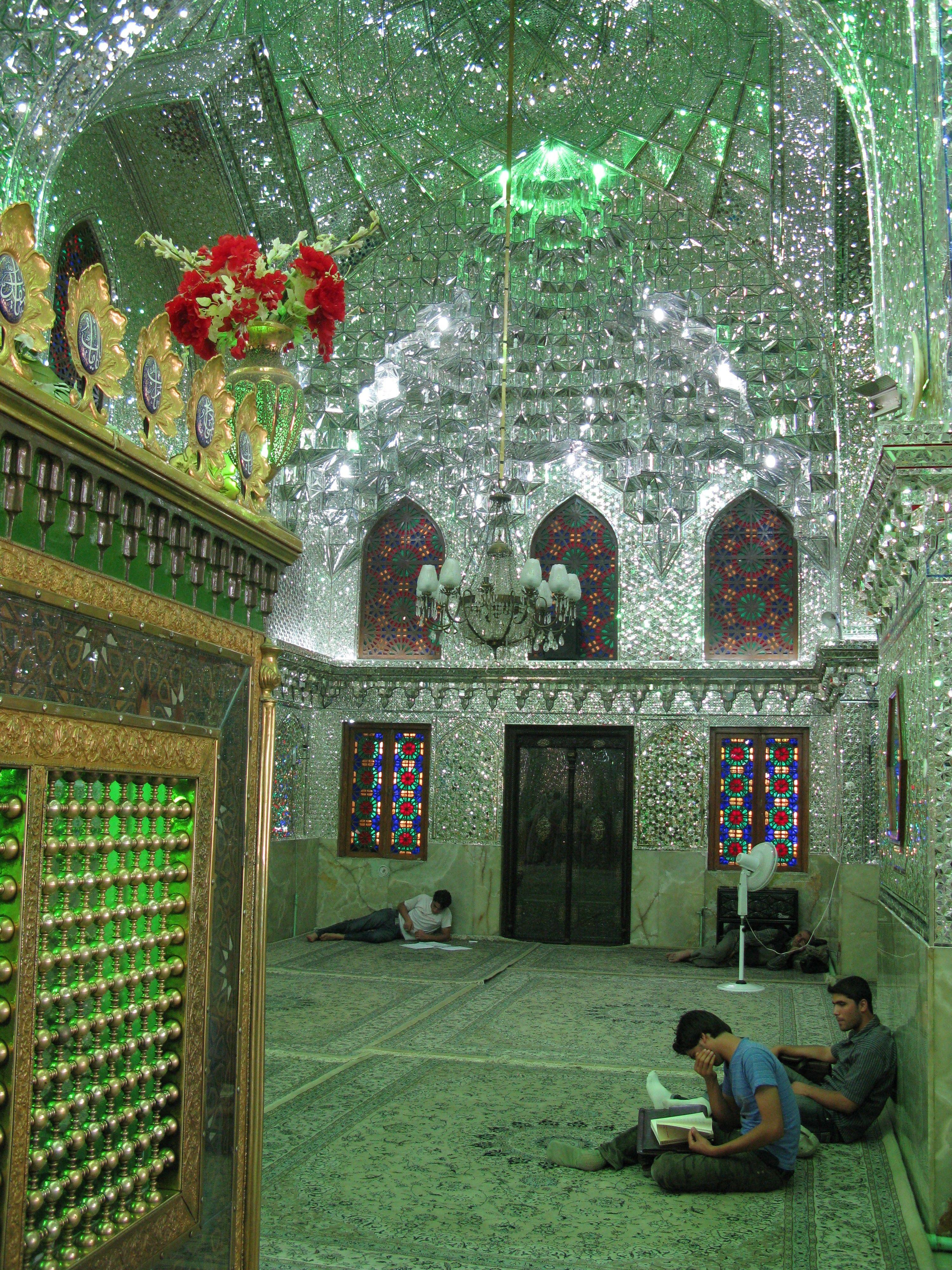 Ali Ibn Hamzah Mausoleum. http://www.farhorizons.com/trips/MiddleEastandArabia/IranEmpires/IranEmpires.php