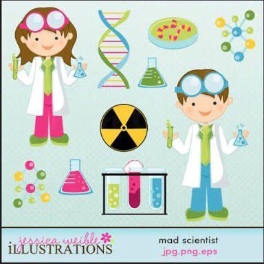 Resultado de imagen para girl scientist clipart My Classroom