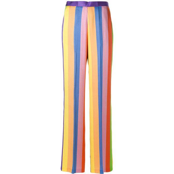 wide-leg striped trousers - Multicolour Etro TdENI
