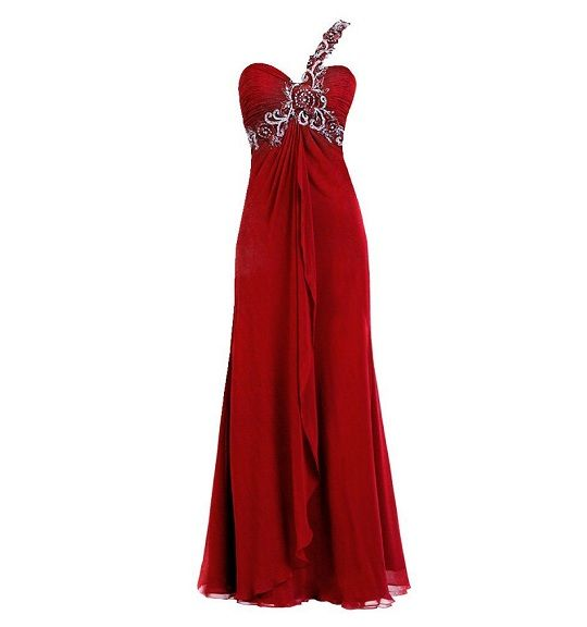 red plus size prom dresses 2013 2014 cheap formal gowns