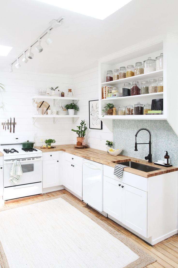 Unser neues Küchen-Makeover hat einen unglaublich kleinen Preis von 6.000 US-Dollar  – Küche ♡ Wohnklamotte