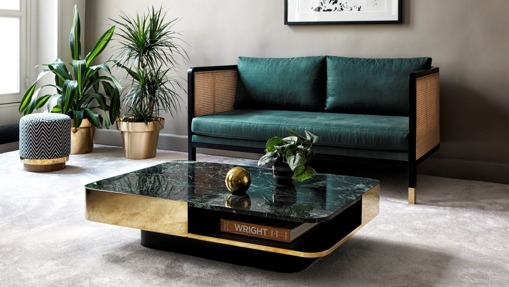Marble Coffee Table By Red Edition Marble Coffee Table Living Room Sofa Table Design Center Table Living Room