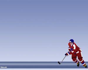 Sport Hockey Powerpoint Template Free Powerpoint Templates Hokkej