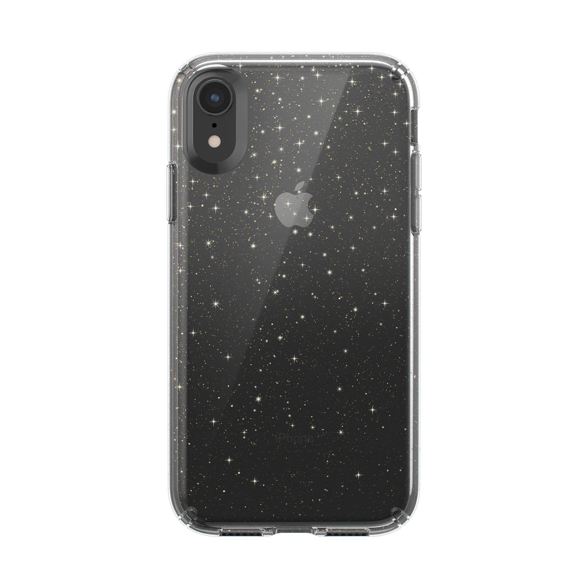 Speck apple iphone xr presidio clear glitter case