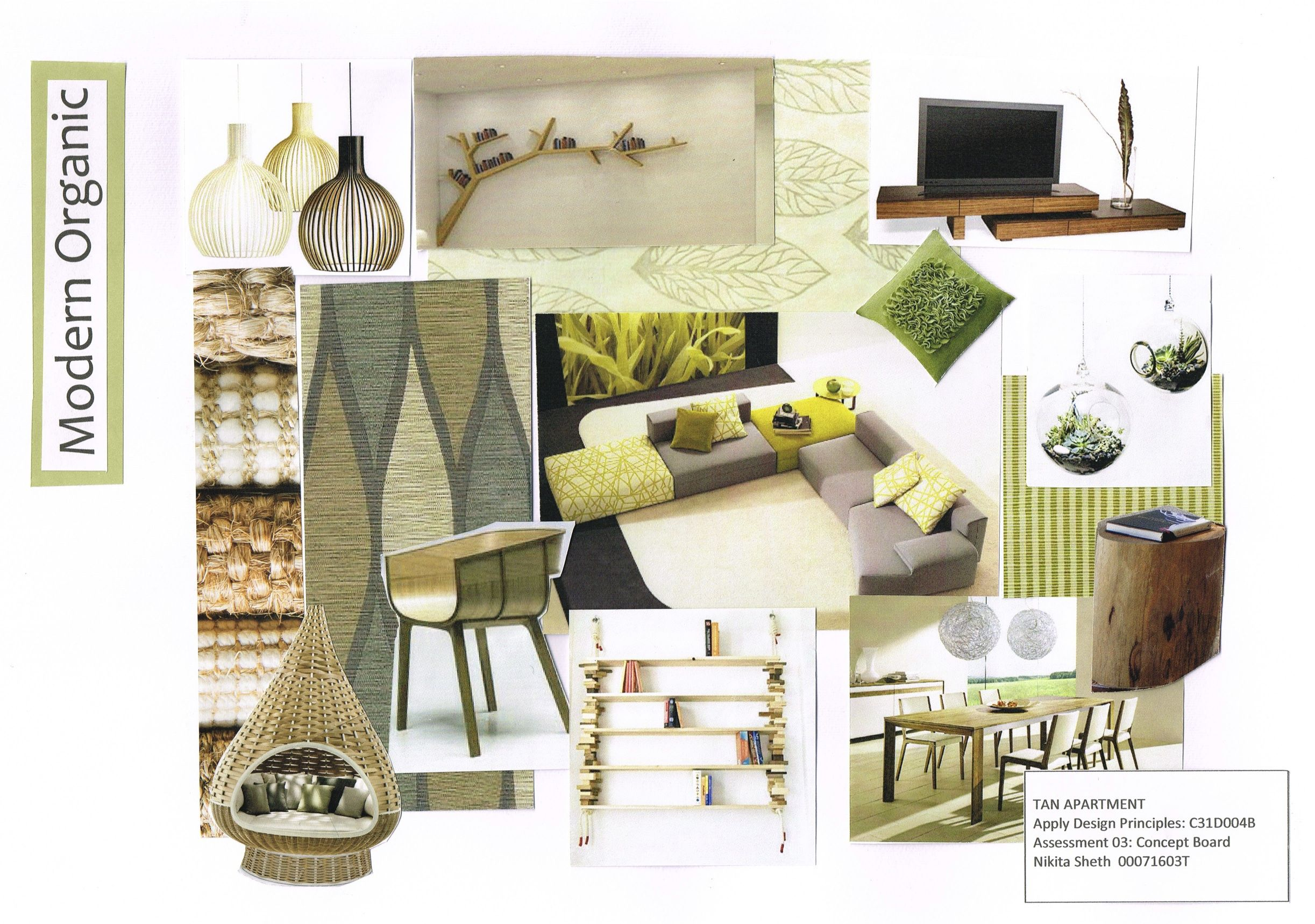 My first mood board! | Mood boards, Interiors and Modern