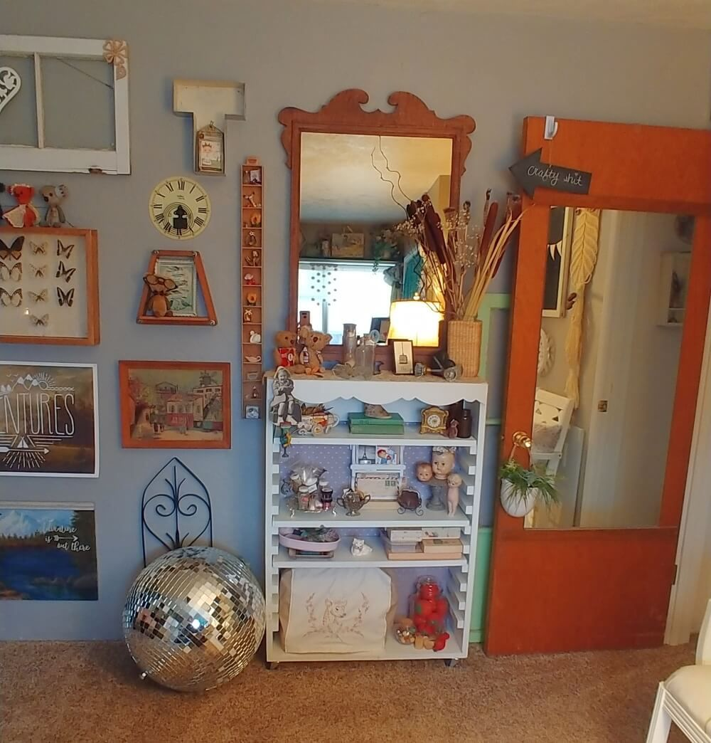 Craft Studio Makeover Cottage Crafts Crafts Vintage