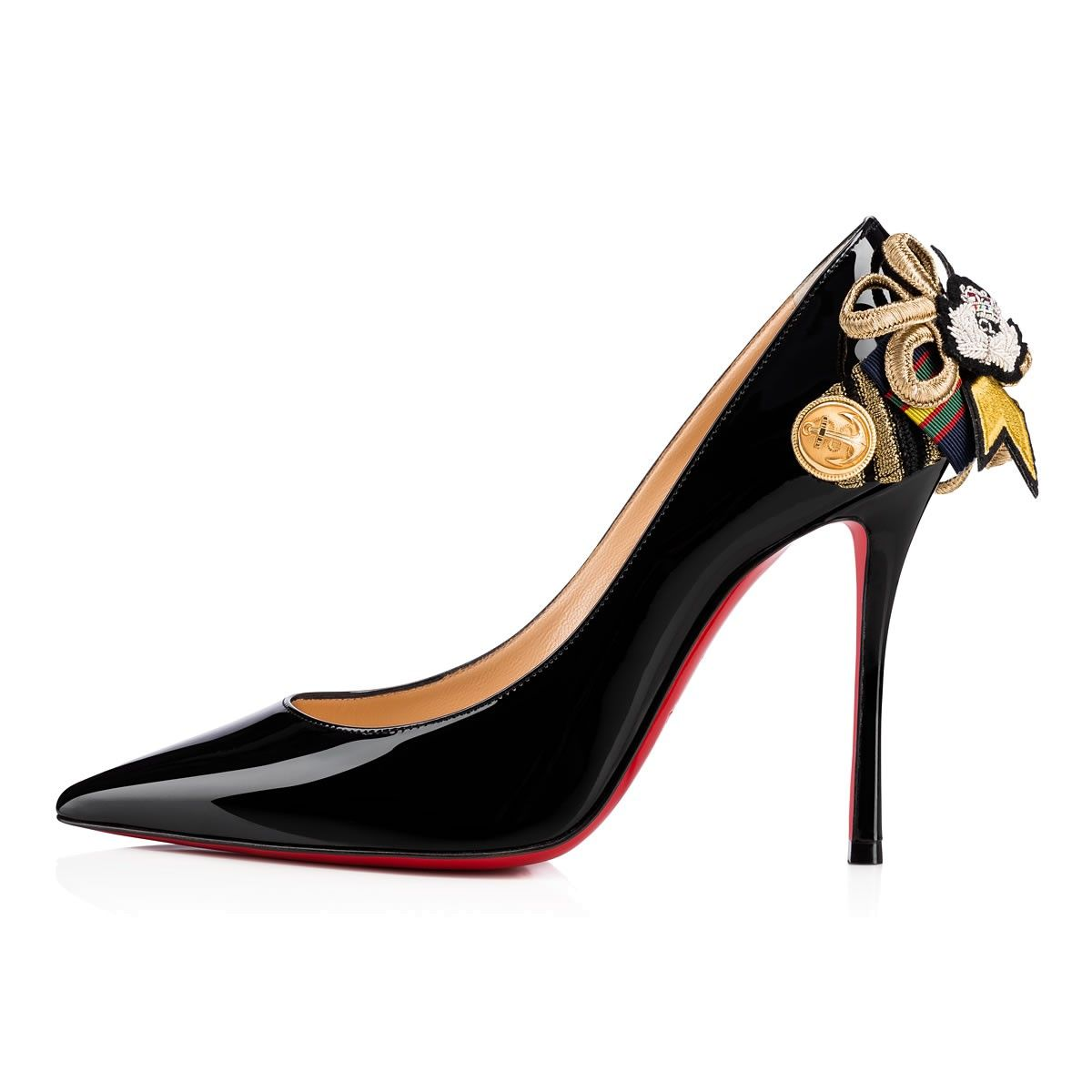 louboutin chaussures noires