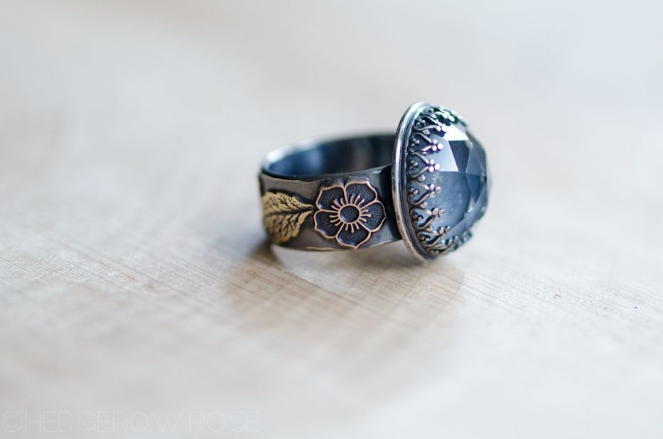 Wood Sprite Quartz Ring Hedgerow Rose Jewelry Pinterest