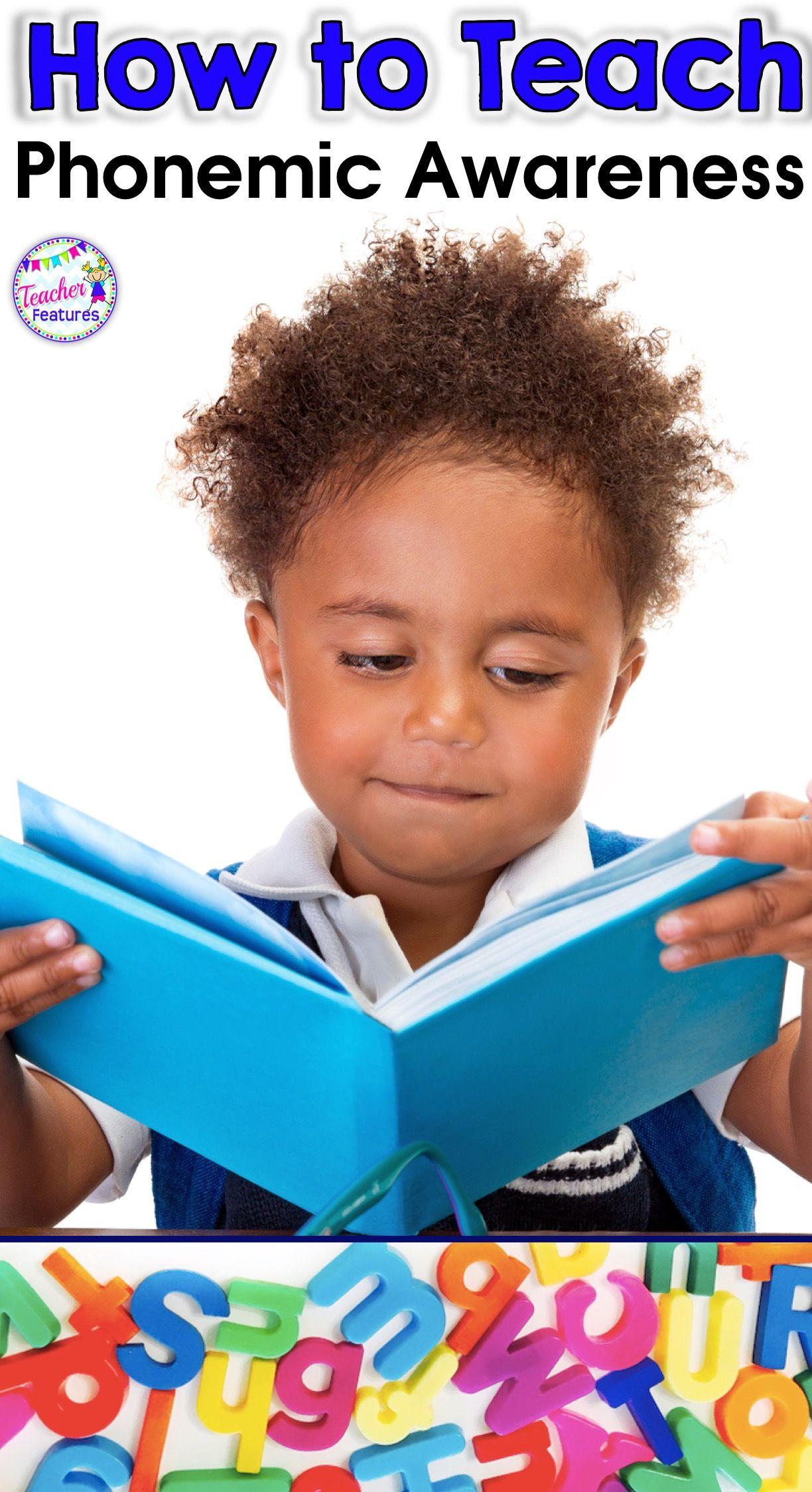 Teach Phonemic Awareness With No Teacher Tears
