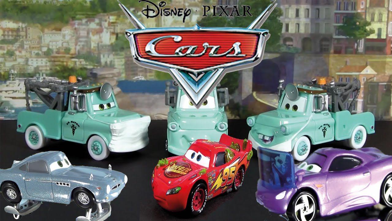 Muhtesem Disney Arabalari I Simsek Mcqueen Mater Shiftwell Hydro Finn Yaris Arabasi Disney Mcqueen