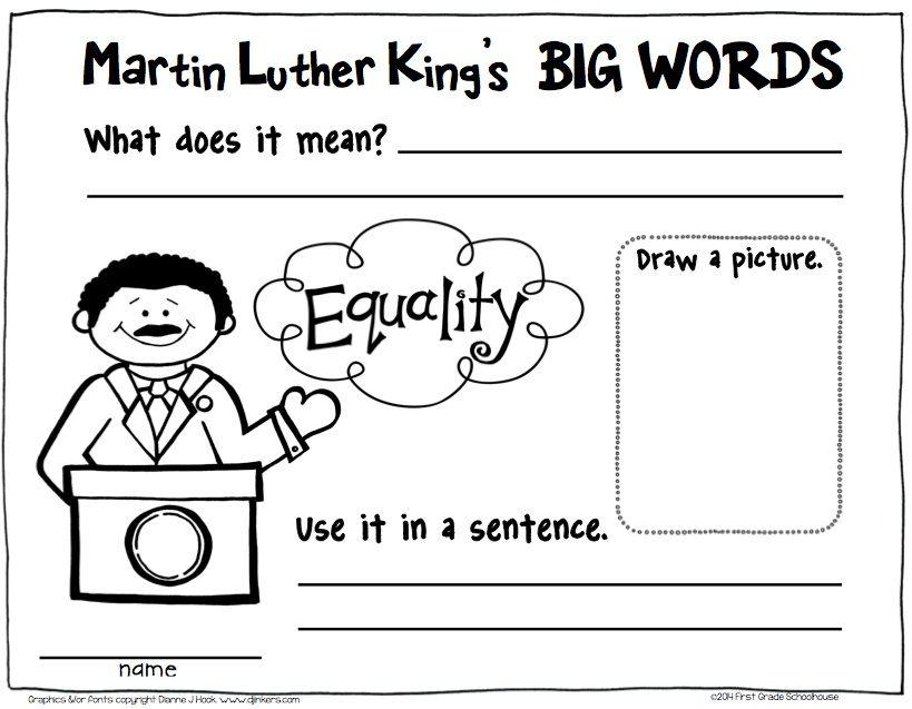 Kindergarten Martin Luther King Lesson Plans | Homeshealth.info