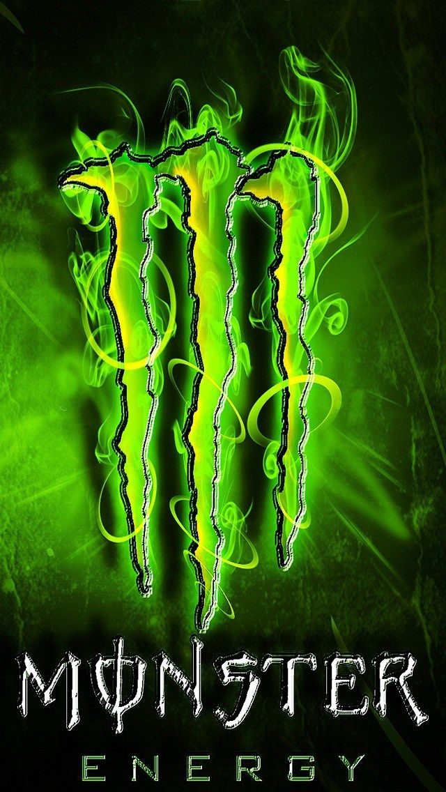 Cool Green Monster Energy Hd Iphone 5 Wallpaper Monster Energy Drink Monster Energy Monster