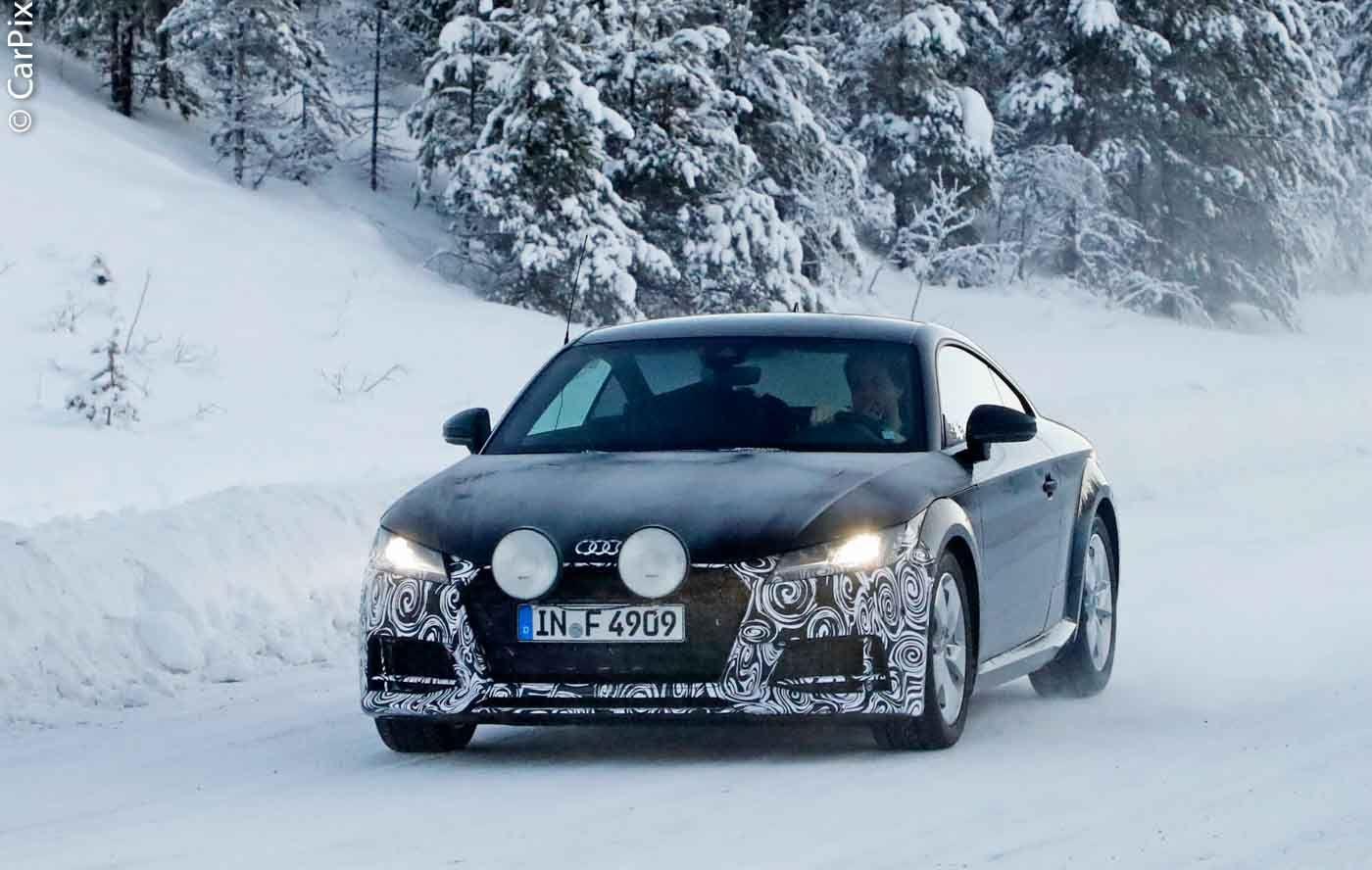 O Audi TT será actualizado muito em breve, mas as