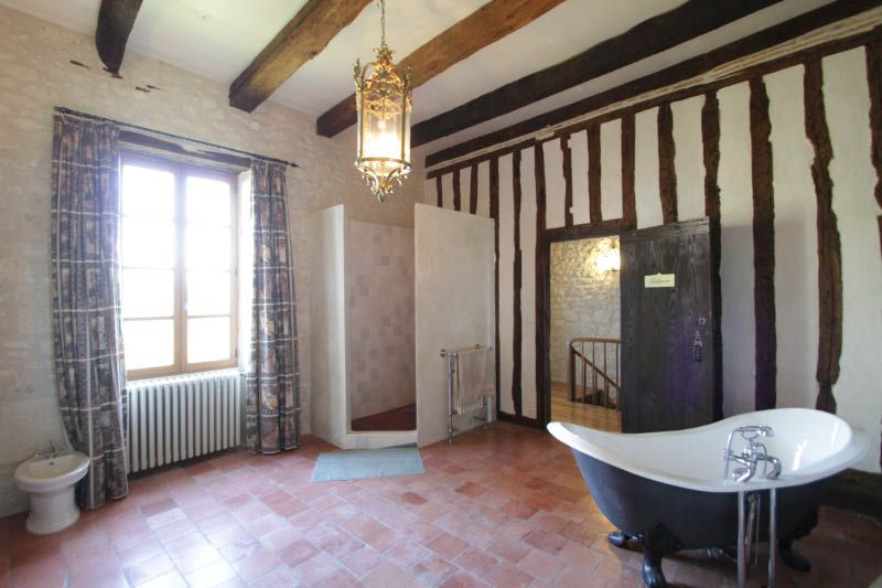 Classic French Chateaux -   Photo Gallery of French Bathrooms