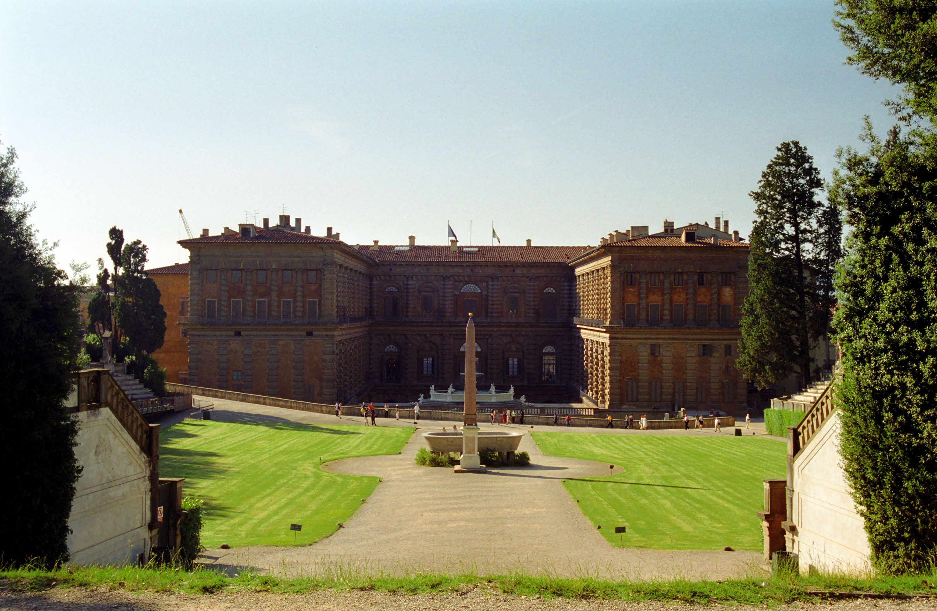 The Pitti Palace in Florence
