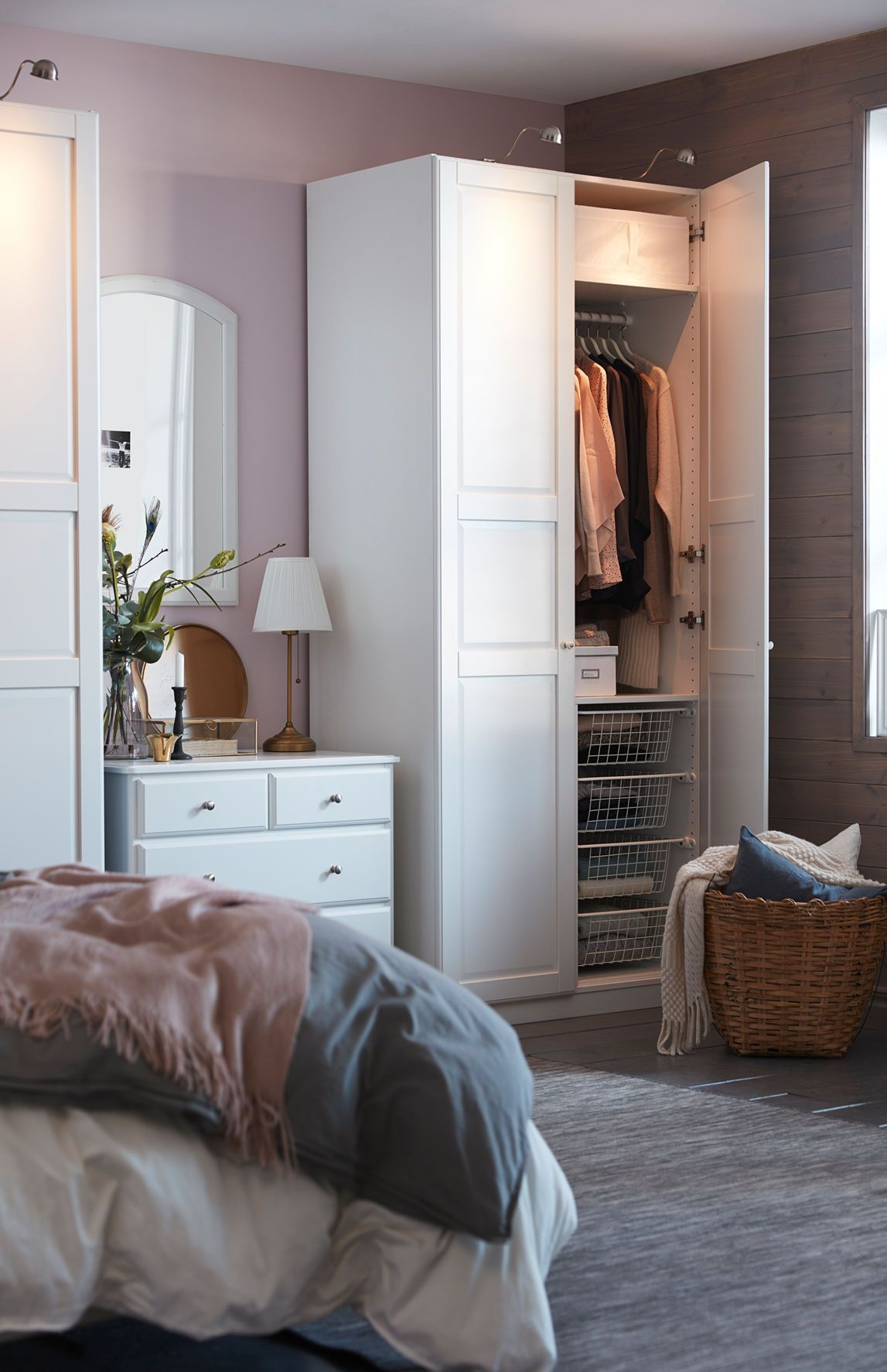 Schlafzimmer Ideen Ikea Isrb Wardrobe By17 Ikea In 2019 Bedroom Decor Bedroom