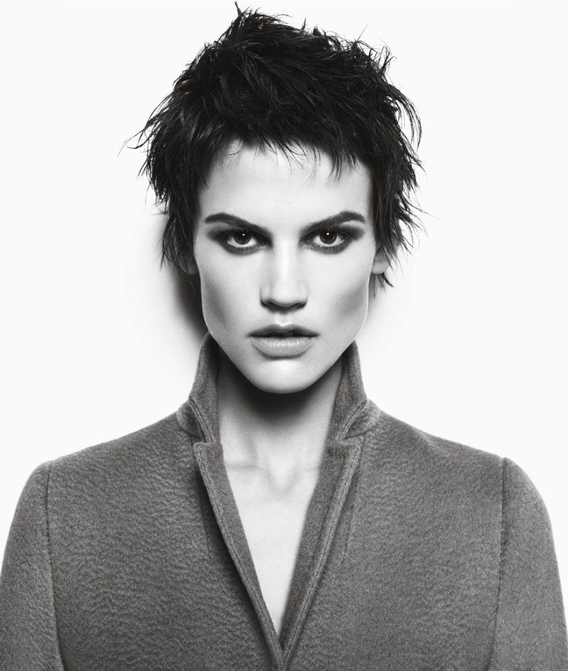 Stunning. Amazing cheek bones. Saskia de Brauw Hits the Rope for Max Mara's Fall 2012 Campaign by Mario Sorrenti