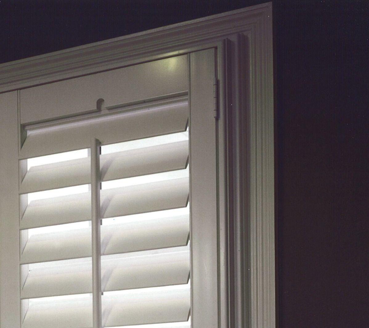 Window coverings shutters  shutters with outside trim  window u door treatments  pinterest