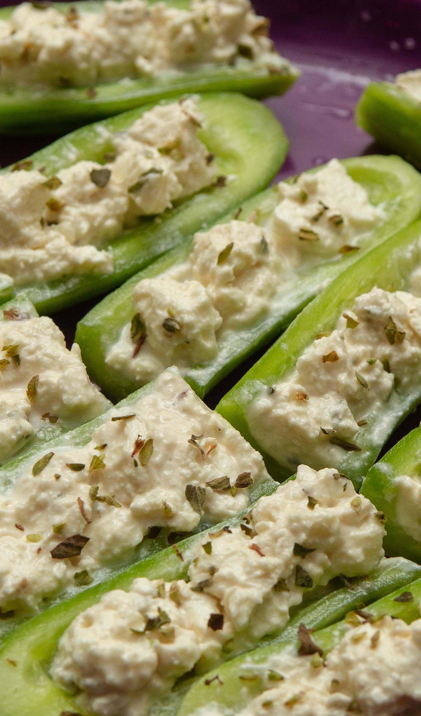 Recette pour cuisiner avec les enfants : mini-concombres menthe et feta   Recette   Recettes de ...