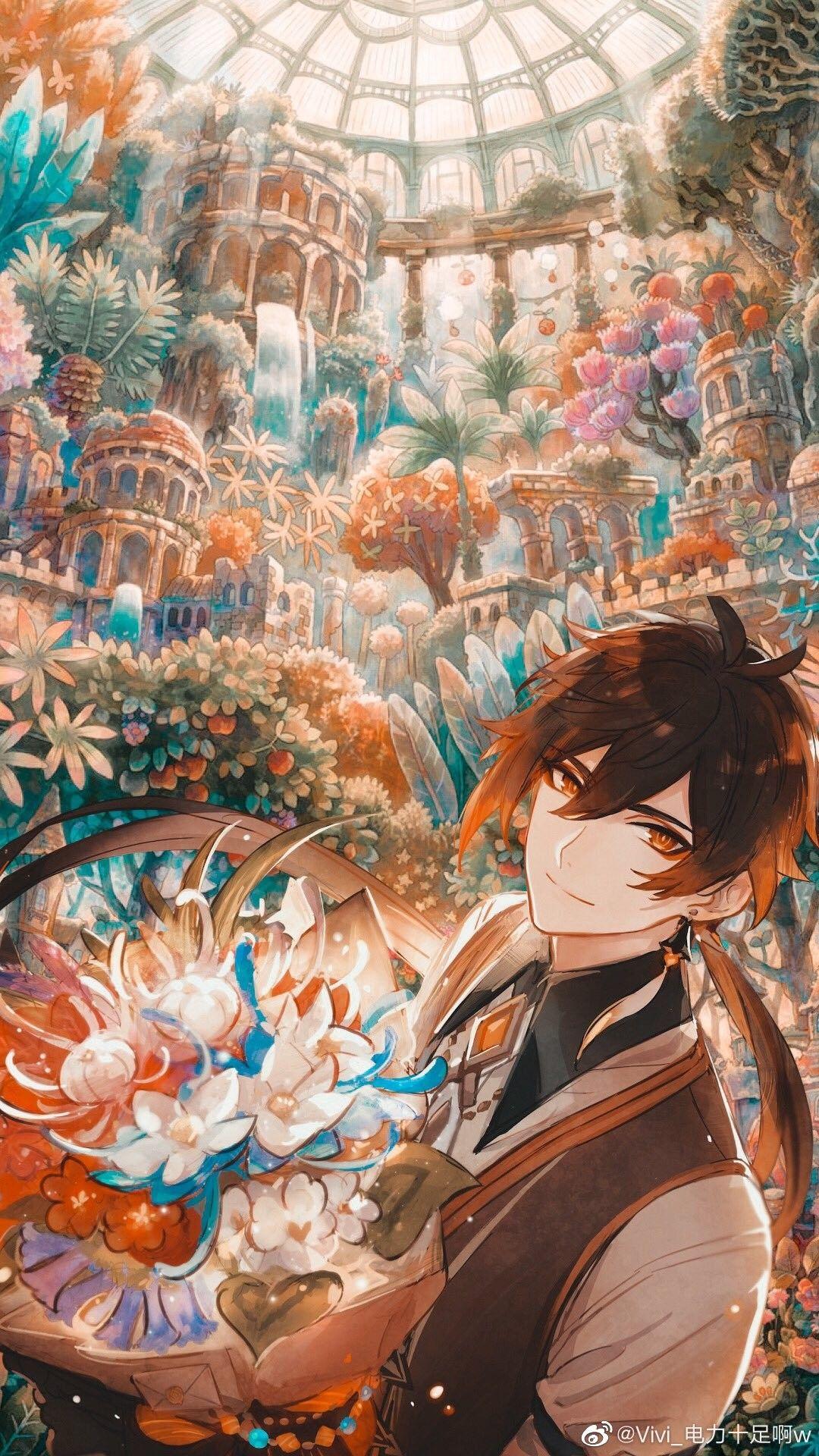 Zhongli Special Iphone Wallpaper In 2021 Anime Art Anime Kawaii Anime High quality anime boy wallpaper iphone