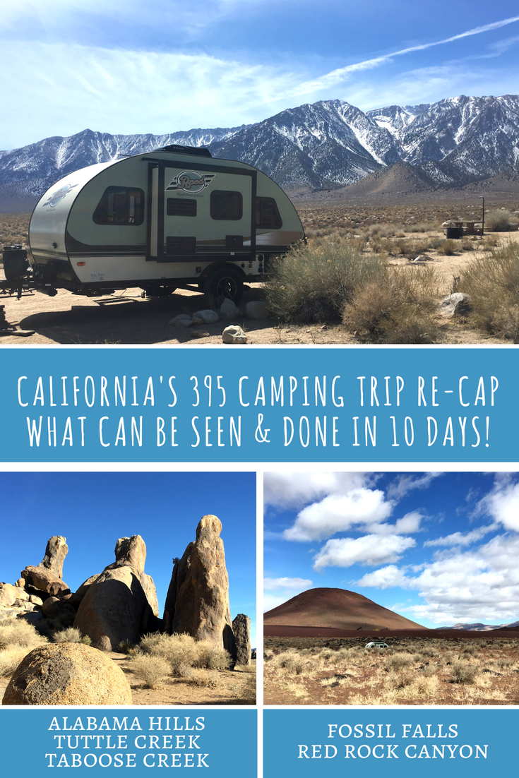 Camping along California's Highway 395 - Red Rock Canyon State Park