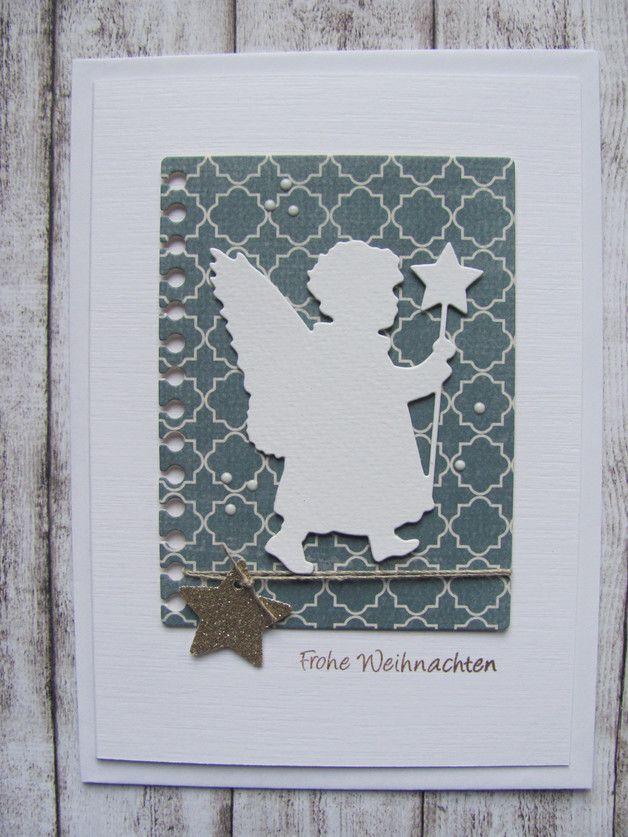 Weihnachtskarte   Weihnachtsgrüße, Die karte und Schutzhülle