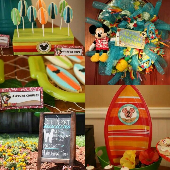 Mickey Mouse Luau Mickey Mouse Clubhouse Party Mickey Mouse