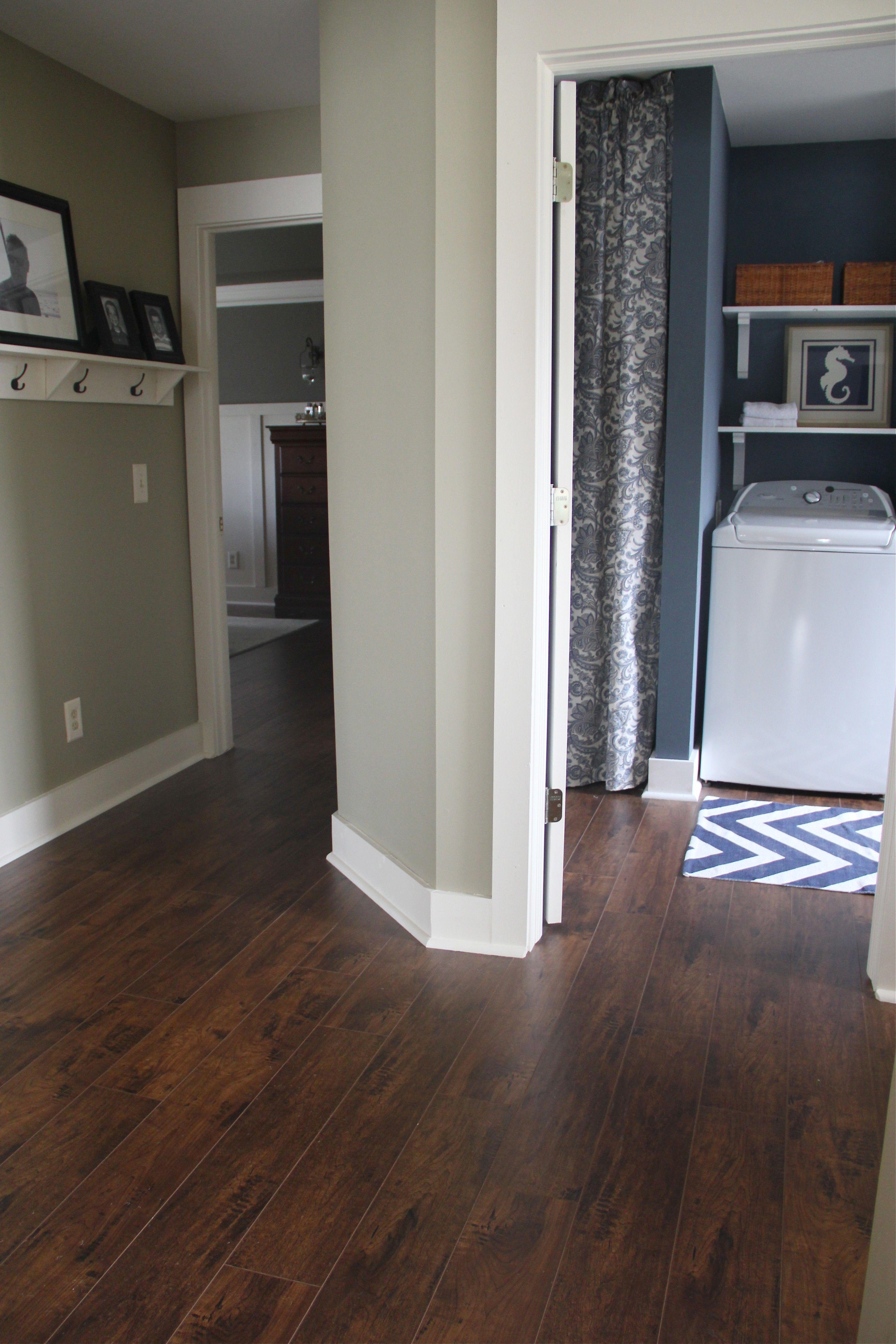 Cocoa Walnut Living room wood floor, Floor colors, Home