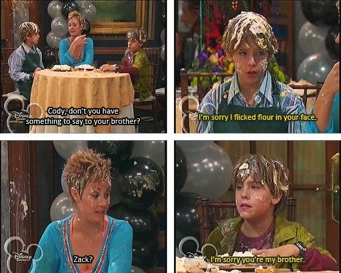 suite life of zack and cody quotes