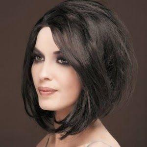 Moderne Épinglé par Zuhal Kara sur Hair Style | Coiffure carré plongeant IG-87