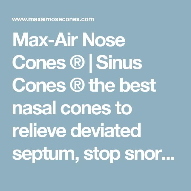 max air nose cones
