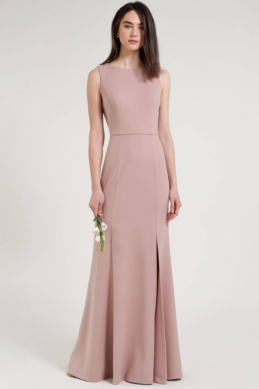 367770468e5 38 Blush Bridesmaid Dresses We Love in 2019 | Dresses | Bridesmaid ...