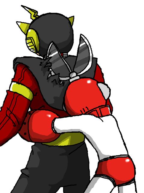 ...and Elecman never let Cutman hug him ever again...