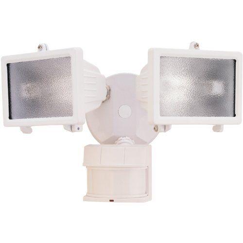Heath Zenith Sl 5512 Wh Dualbrite 150 Watt Motion Sensing