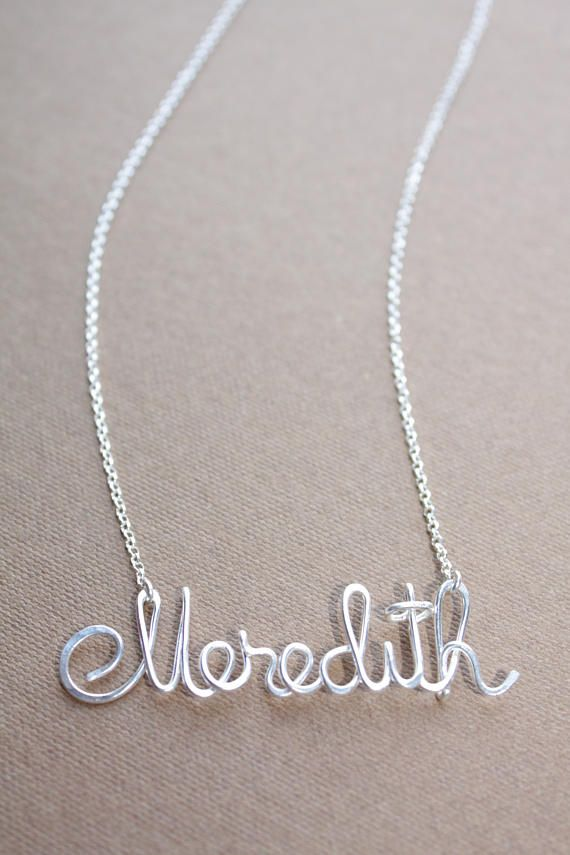 ce40b6d24adde Personalized Name Necklace Dainty Custom Name Necklace Children Name ...