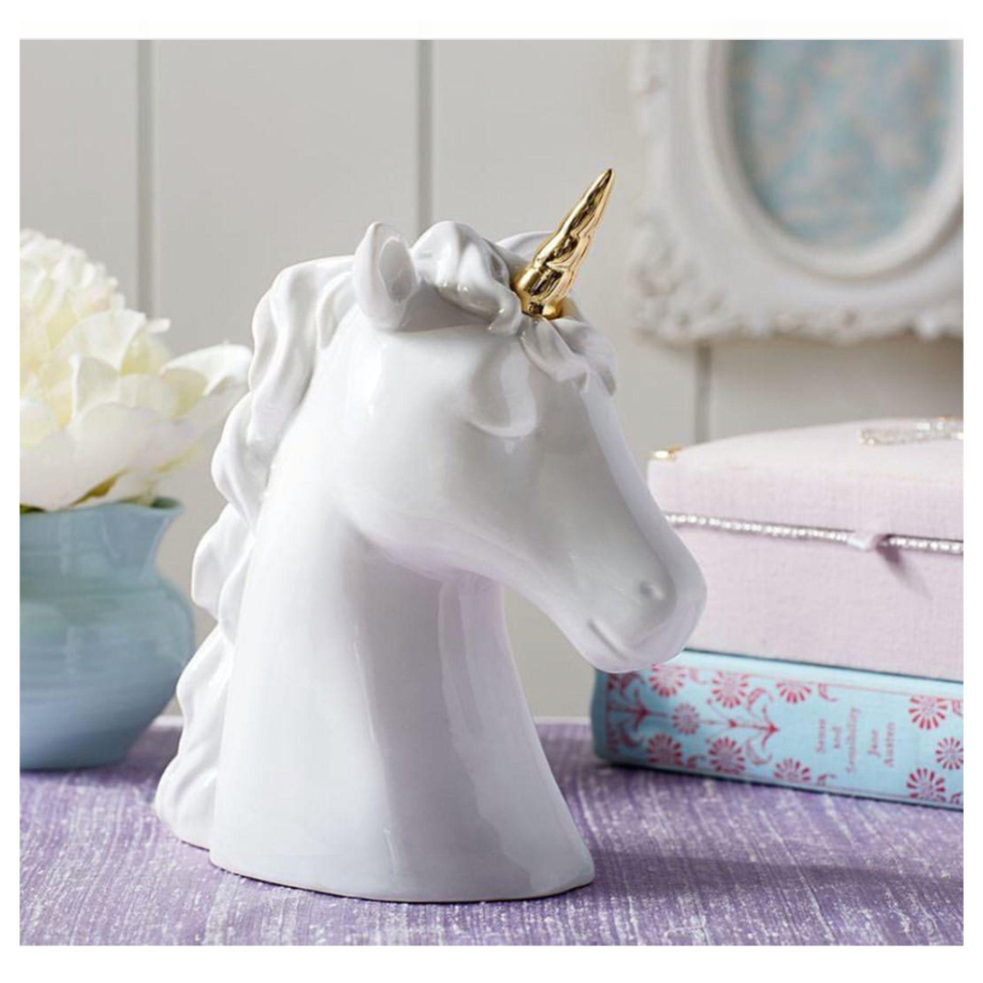 Pottery Barn Unicorn Piggy Bank Unicorn Bedroom Unicorn