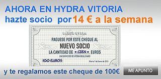 Hydra Vitoria por 14€ semana by Hydra Informa, via Flickr