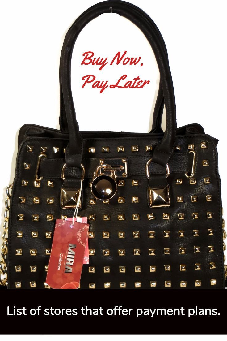 Handbags Now Pay Later With S That Offer Deferred
