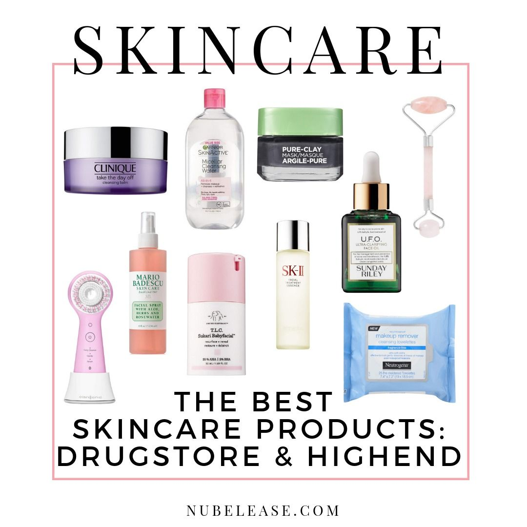 The Best Skin Care Products 2019 Drugstore & Luxury Skin