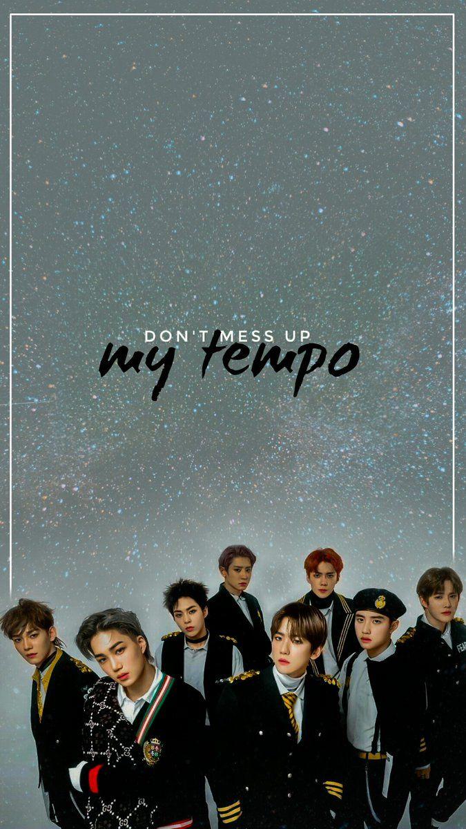 Exo Wallpaper On ในป 2019 Wallpaper K Pop Pinterest Exo Exo